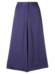 Theory a-lyne mid skirt - PURPLE