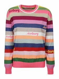 Iceberg Stripe Ribbed Sweatshirt