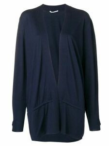 Agnona open front cardigan - Blue