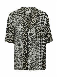 Pierre-Louis Mascia Animal Skin Printed Shirt