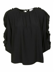 RED Valentino Cut-out Sleeved Blouse