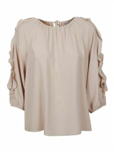 RED Valentino Ruffle-sleeved Blouse