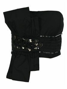 Mm6 Crystal Embroidered Top