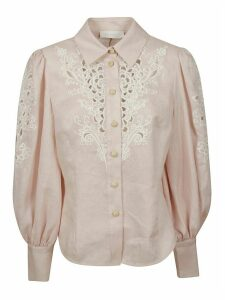 Zimmermann Freja Embroidery Shirt