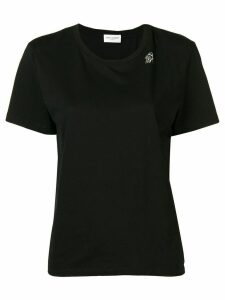 Saint Laurent round neck T-shirt - Black