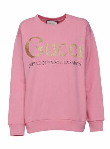 Gucci Glittered Logo Sweatshirt