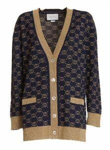 Gucci Gg Fine Wool Cardigan
