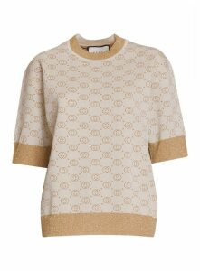 Gucci Interlocking G Wool Top
