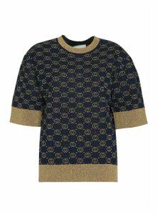 Gucci Interlocking G Wool Top