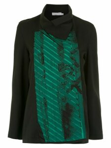 Mara Mac printed blazer - Black