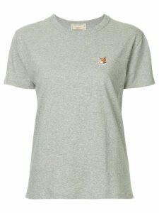 Maison Kitsuné fox patch T-shirt - Grey