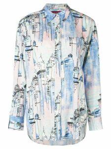 Sies Marjan City print shirt - Blue