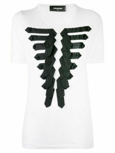 Dsquared2 appliqué T-shirt - White