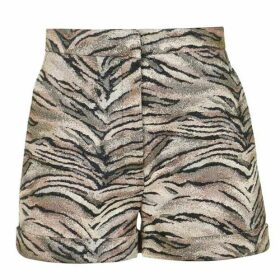 Redemption Redemption Zebra Tailored Shorts