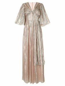 Peter Pilotto long striped gown - PINK