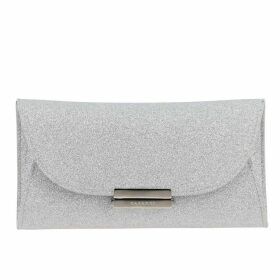 Casadei Crossbody Bags Casadei Glitter Clutch With Logo