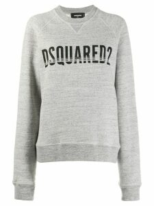 Dsquared2 logo print sweatshirt - Grey