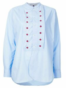 Jupe By Jackie Battle embroidered detail shirt - Blue