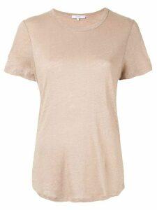 Venroy crew neck T-shirt - Brown