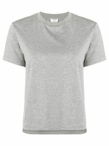 Thom Browne Slide Slits Relaxed Tee - Grey