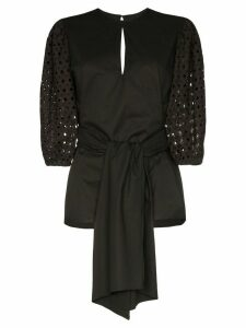 Johanna Ortiz Our Secret Life structured blouse - Black