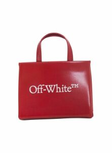 Off White Logo Print Tote Bag