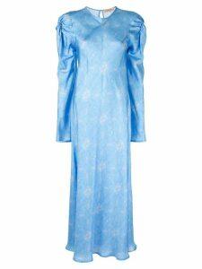 Maggie Marilyn Love Me Knot printed dress - Blue