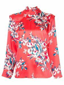 Roksanda Aluna floral print blouse - Red