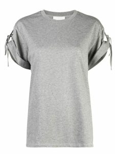 3.1 Phillip Lim tied short-sleeved T-shirt - Grey