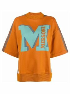 Missoni logo sweatshirt - ORANGE