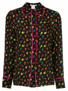 Alice+Olivia Alfie Stace print shirt - Black