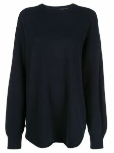 Extreme Cashmere oversized knit jumper - Blue