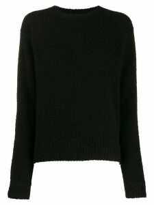 Acne Studios relaxed fit jumper - Black