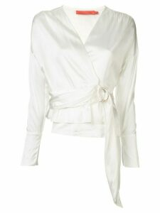 Manning Cartell wrap up blouse - White