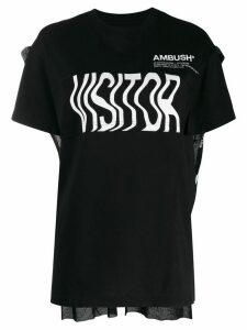 AMBUSH logo T-shirt - Black