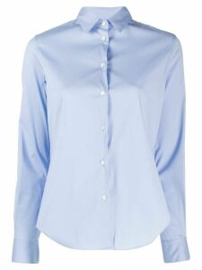 Aspesi fitted longsleeved shirt - Blue