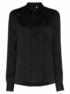Sunflower Type button-up shirt - Black