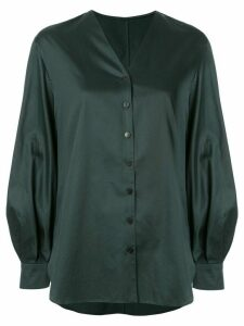 Kuho V-neck shirt - Green