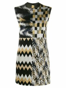 Missoni patchwork dress - NEUTRALS
