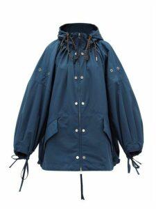 2 Moncler 1952 - Amaranth Balloon-sleeve Jacket - Womens - Mid Blue