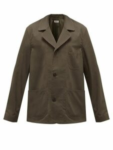 Chimala - Patch-pocket Cotton-canvas Shirt Jacket - Womens - Khaki