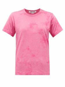 Comme Des Garçons Comme Des Garçons - Tie-dye Cotton T-shirt - Womens - Pink