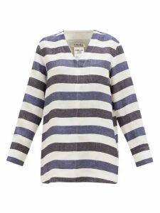 S Max Mara - Magico Top - Womens - Blue White
