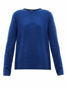 Gabriela Hearst - Arcas Round-neck Cashmere-blend Bouclé Sweater - Womens - Blue