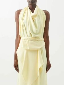 Another Tomorrow - Long-sleeved Organic-cotton T-shirt - Womens - Black