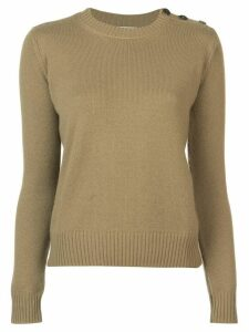 Alexandra Golovanoff long-sleeve fitted sweater - Green