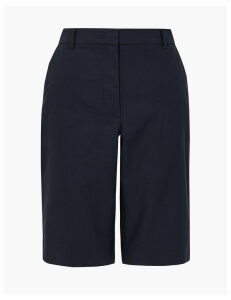 M&S Collection Cotton Rich Chino Shorts