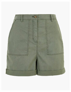 M&S Collection Cotton Cargo Shorts