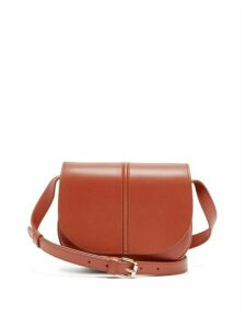 A.P.C. - Betty Leather Shoulder Bag - Womens - Brown