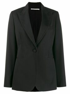 Stella McCartney single breasted fitted blazer - Black